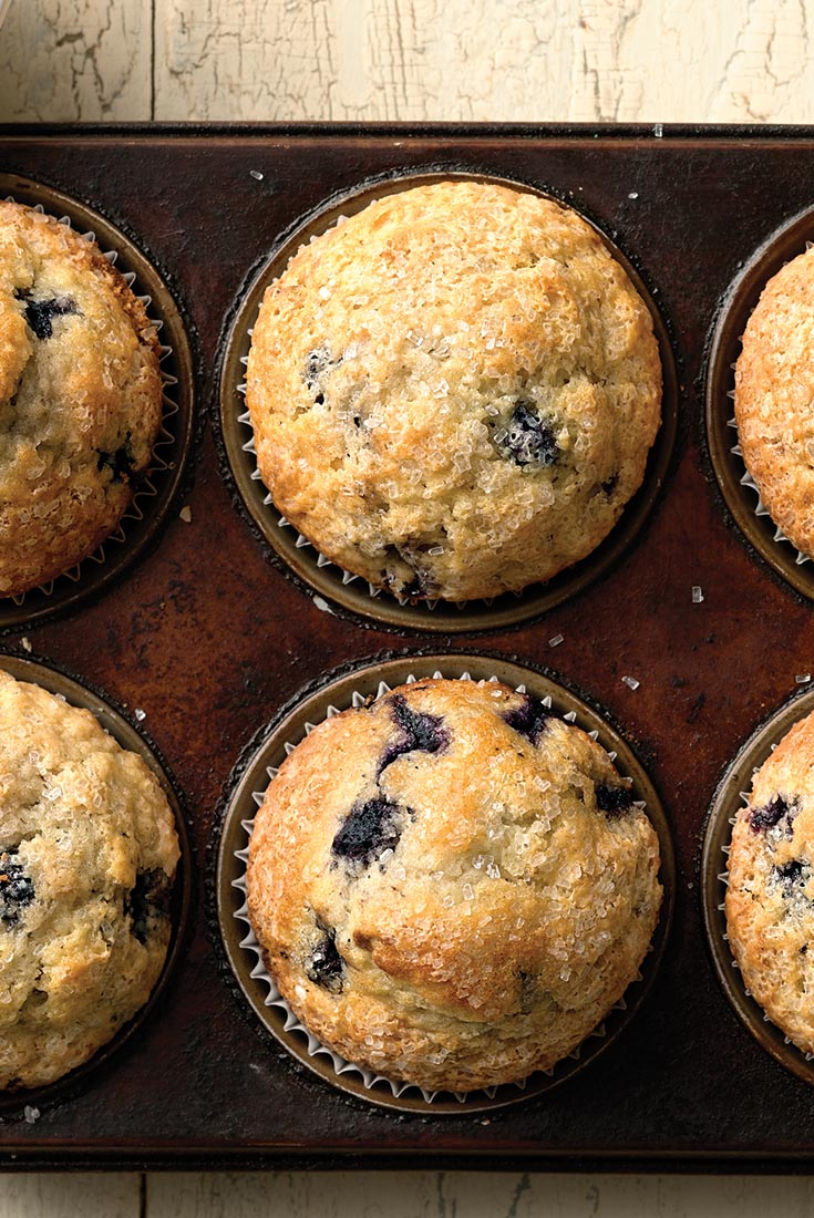Easy Self-Rising Blueberry Muffins Recipe