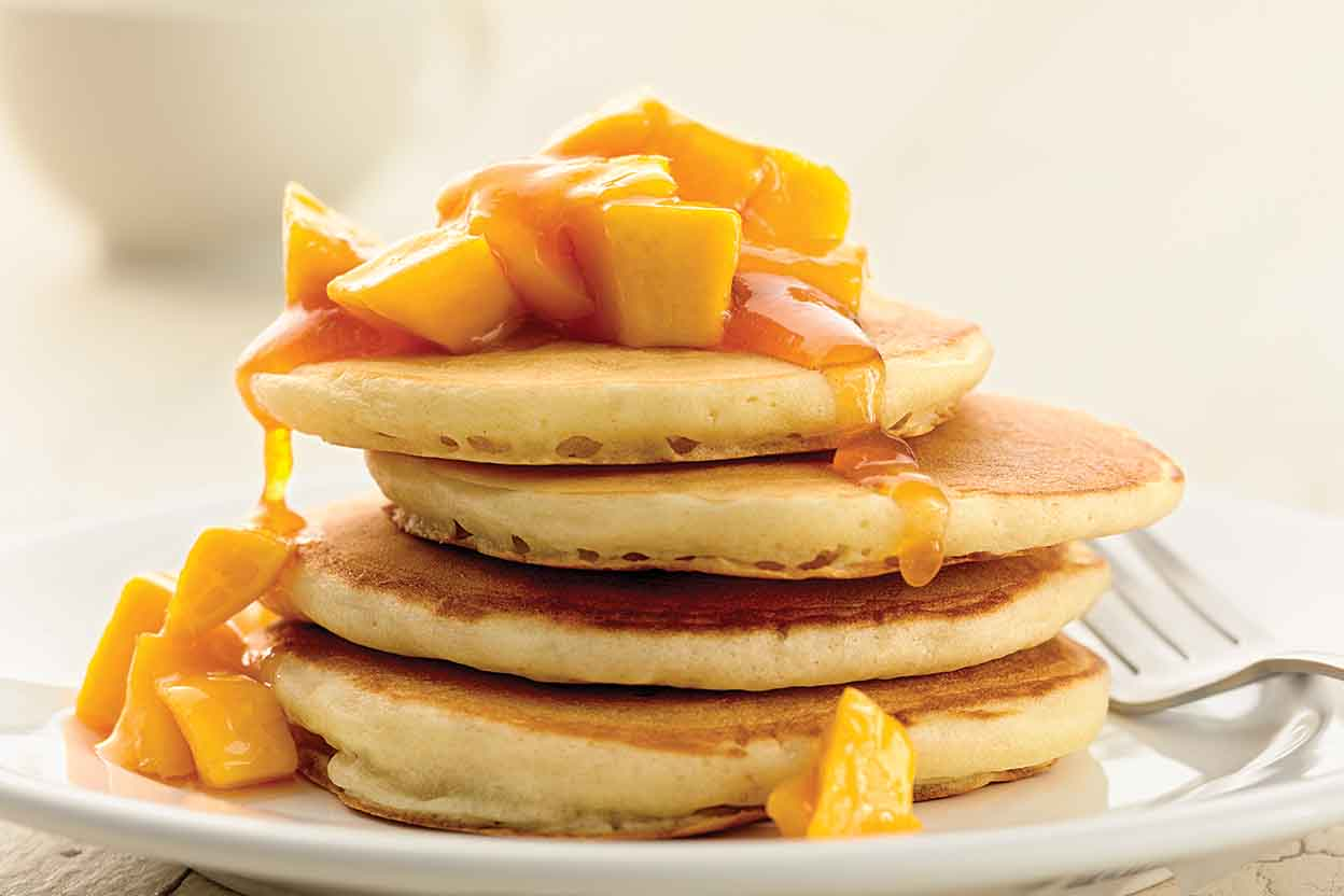 Self rising light and fluffy pancakes recipe king arthur flour ccuart Image collections