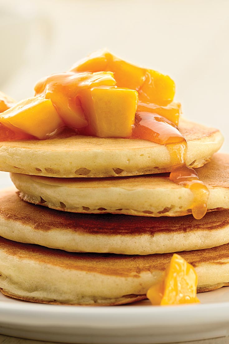 Self-Rising Light and Fluffy Pancakes Recipe
