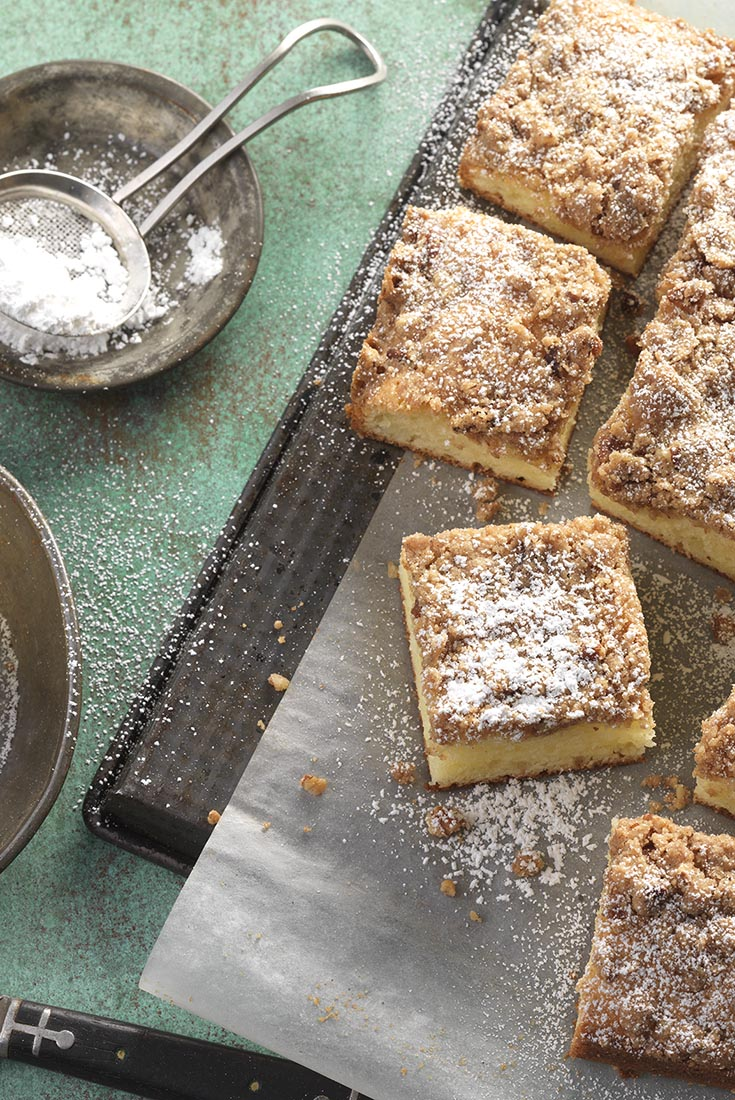 Gluten-Free Cinnamon-Streusel Sour Cream Coffeecake  Recipe