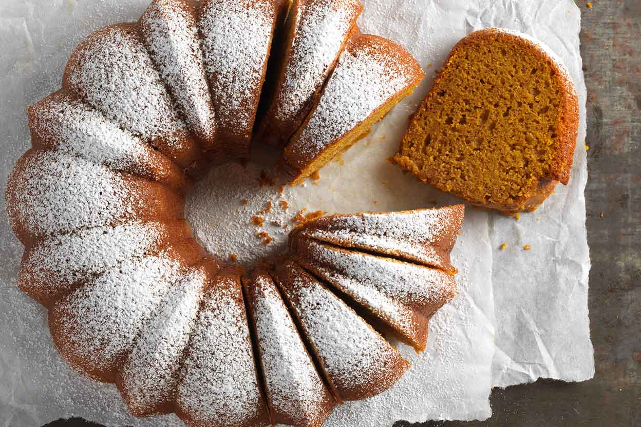 GlutenFree Pumpkin Cake Recipe King Arthur Flour