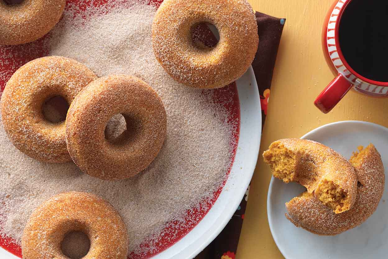 Old Fashioned Homemade Molasses Doughnuts