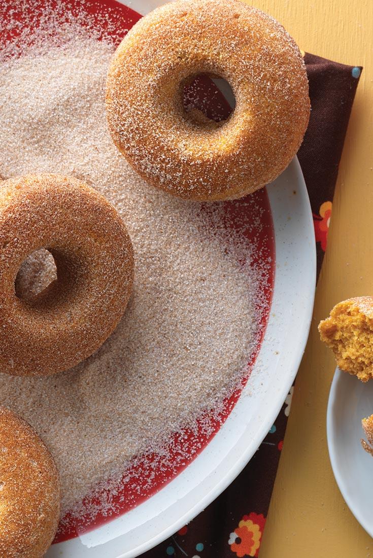 Pumpkin Cake Doughnuts Recipe