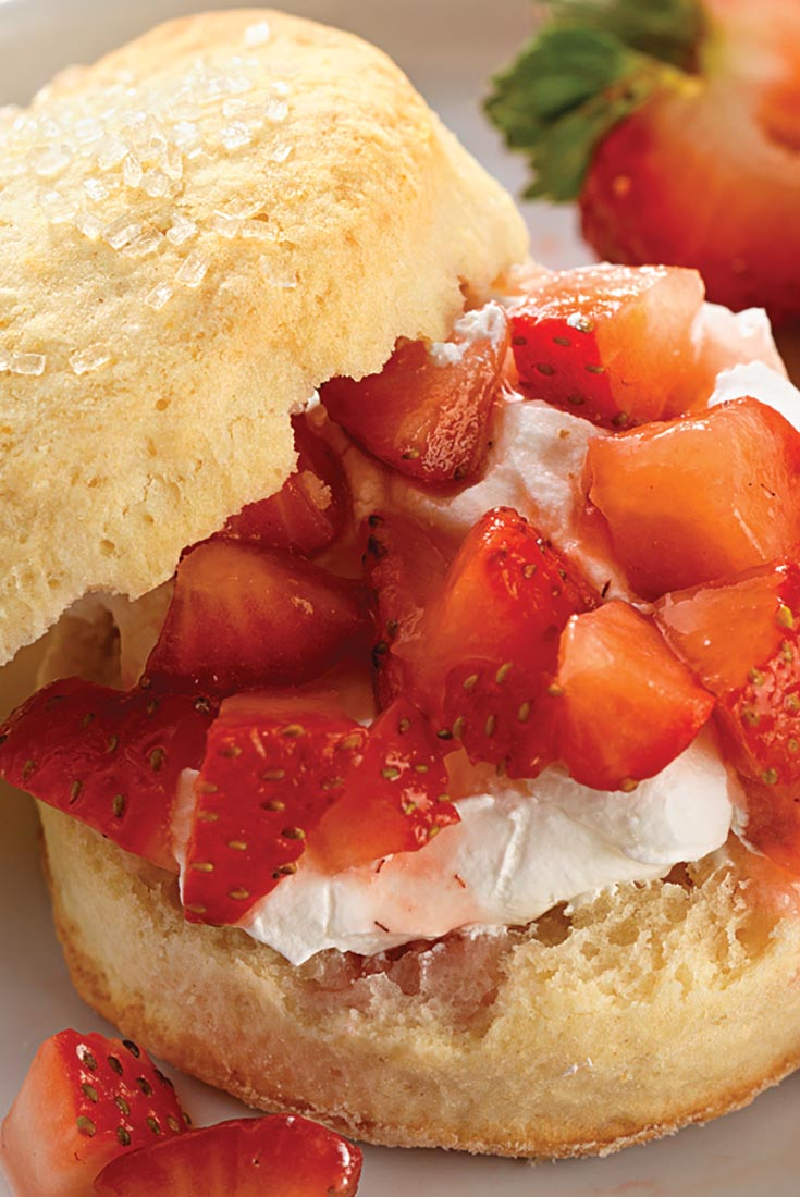 Self-Rising Cream Biscuits for Shortcake Recipe