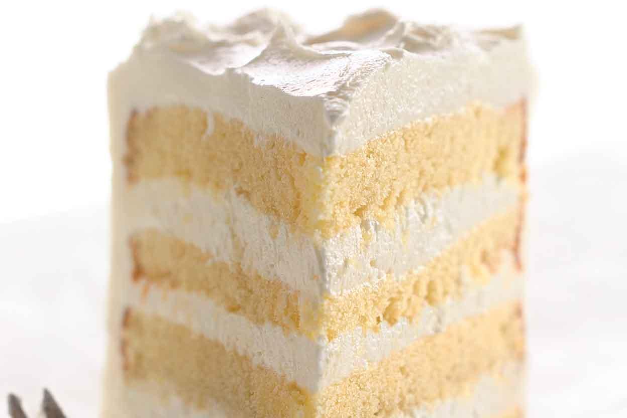 Self-Rising Yellow Cake Recipe