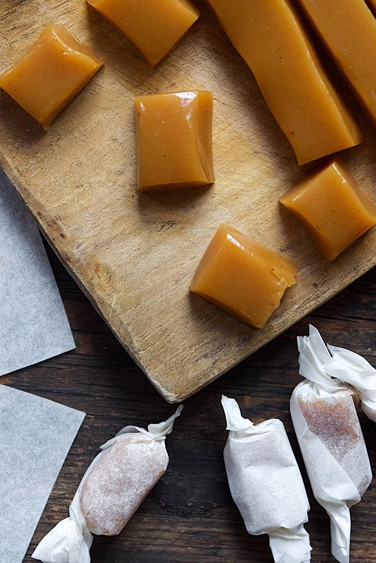 Apple Cider Caramels Recipe