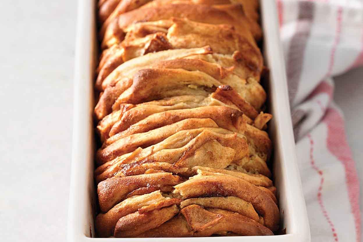 Cinnamon Apple Pull-Apart Bread Recipe | King Arthur Flour