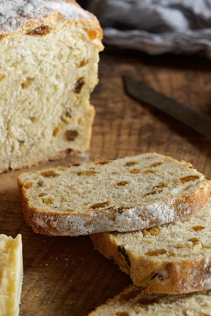 Fruited Sourdough Sandwich Bread Recipe