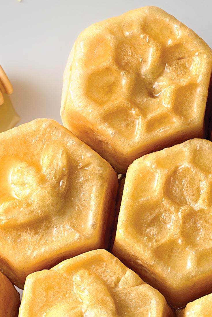 Honeycomb Buns Recipe