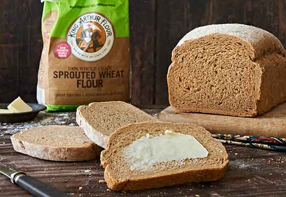 Sprouted Wheat Super Sprout Bread Recipe