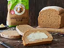 Peter Reinhart's Super Sprout Bread