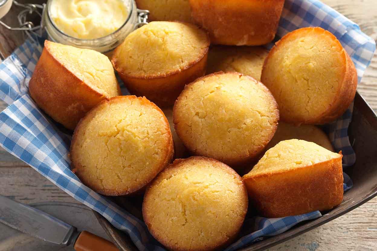 Easy mini corn muffin recipe