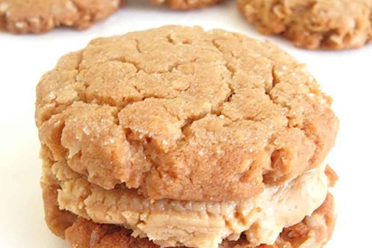 Peanut Butter-Oatmeal Sandwich Cookies Recipe | King Arthur Flour