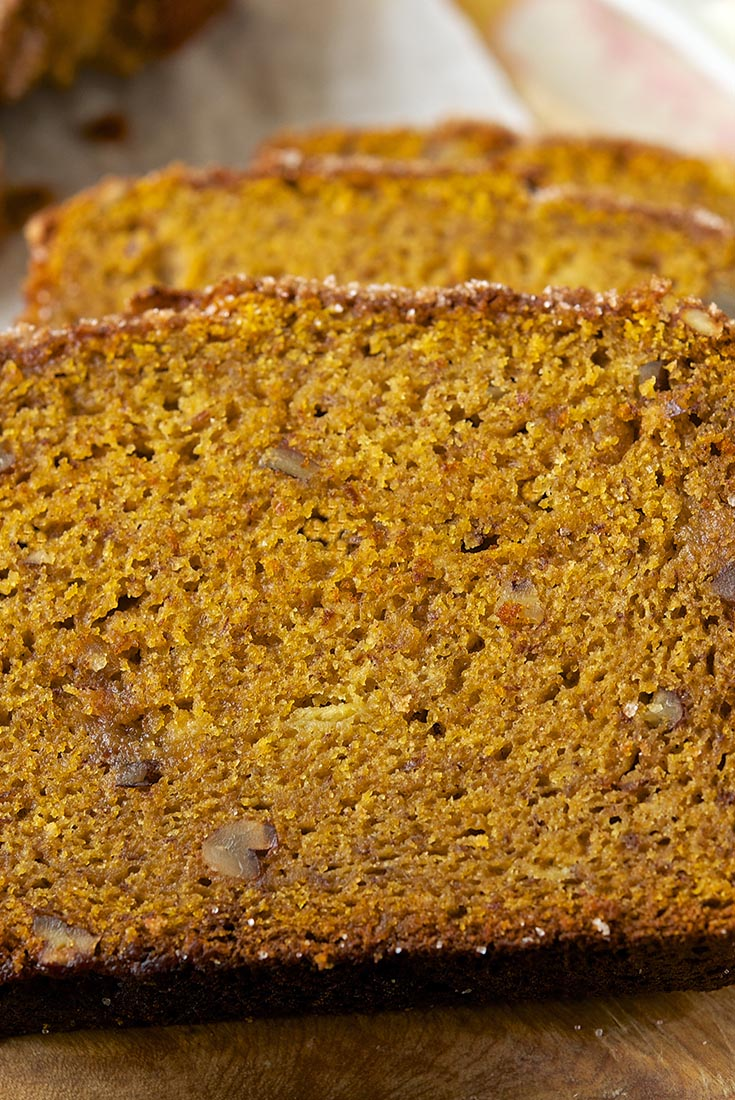 Easy Whole Grain Pumpkin-Banana Bread Recipe