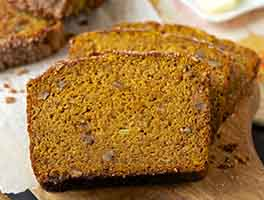 Easy Whole Grain Pumpkin-Banana Bread
