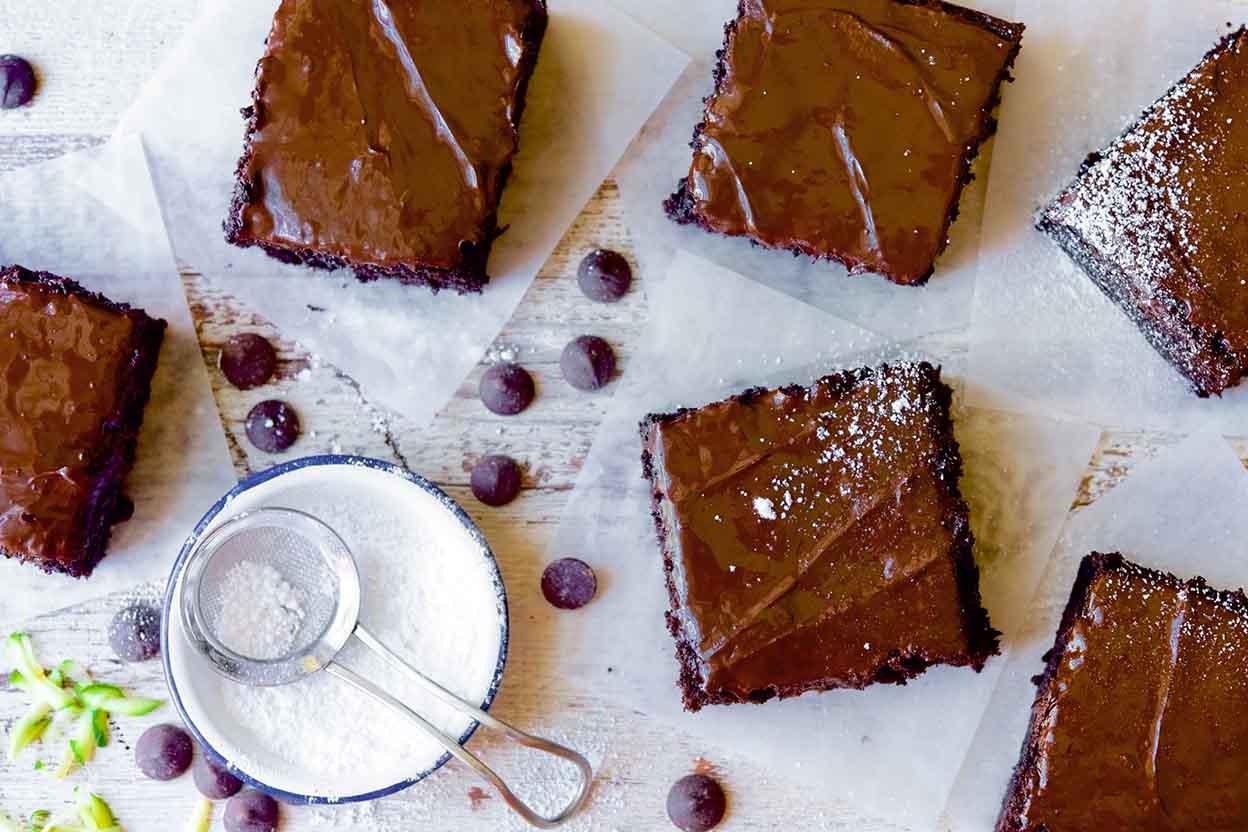 King Arthur Chocolate Zucchini Cake