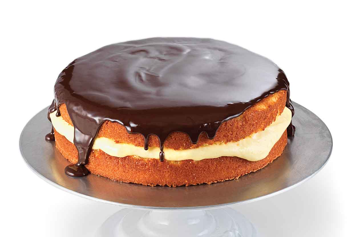 Boston Cream Pie Cake Or Pie