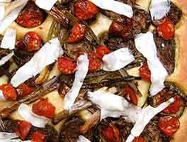 Roasted Vegetable Focaccia