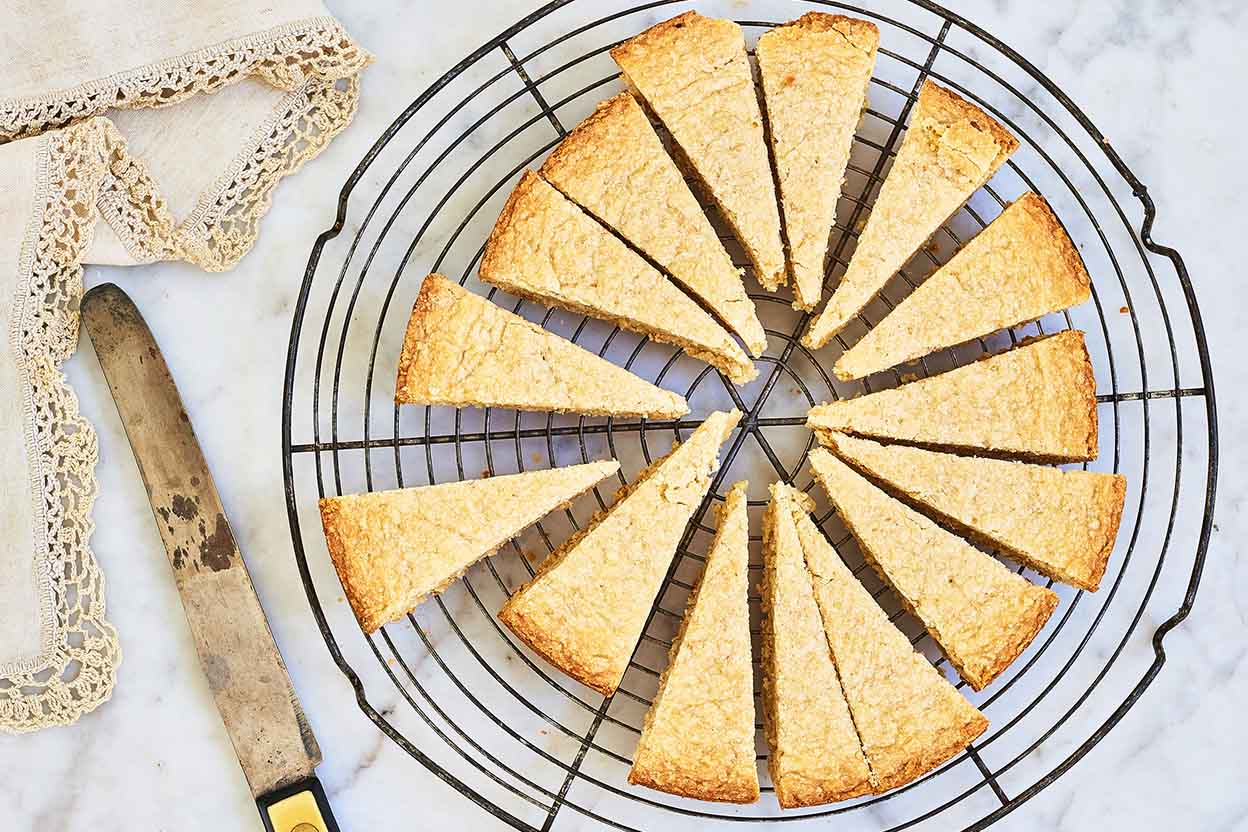 Sugar Vanilla Shortbread Cookies Recipes King Arthur Flour