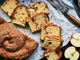Cinnamon-Apple Raisin Challah