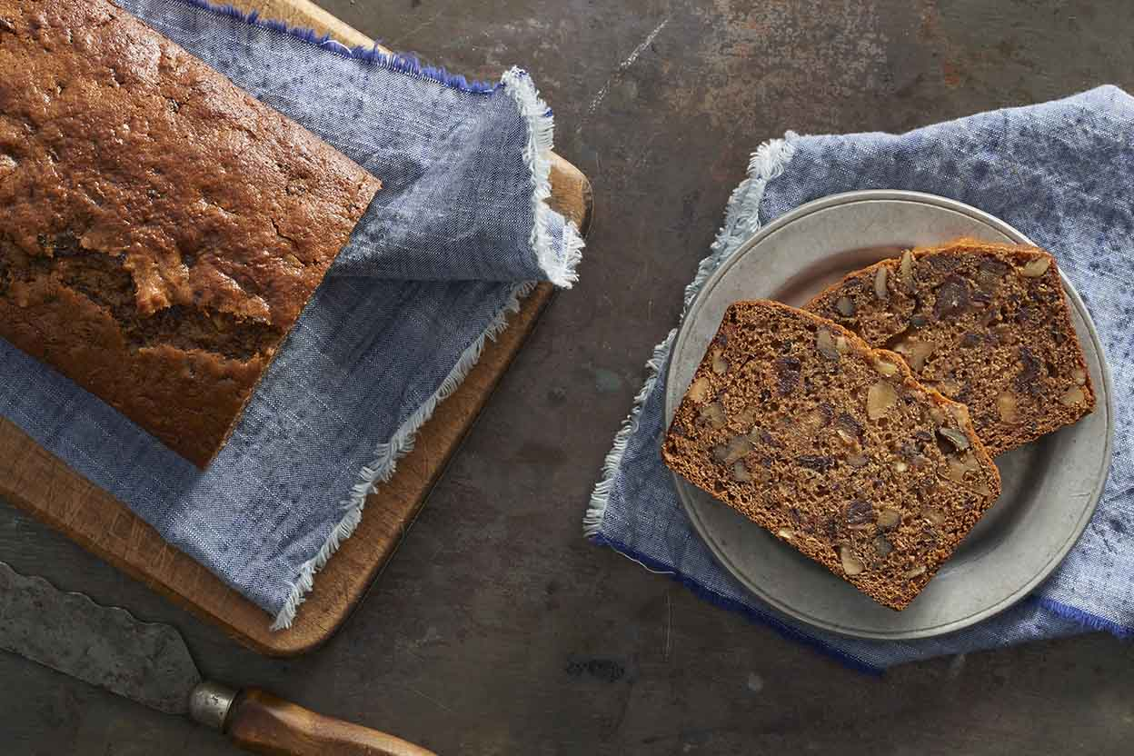 Walnut Date Bread Recipe is a quick bread recipe. Quick breads are ...