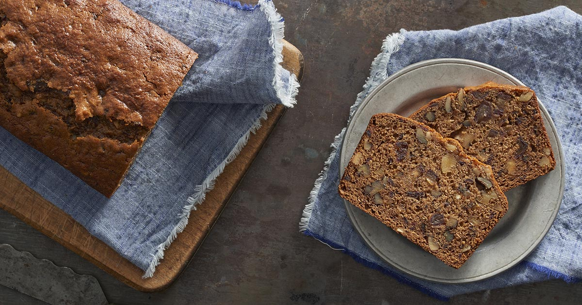 Old fashioned date nut bread recipe king arthur flour forumfinder Image collections