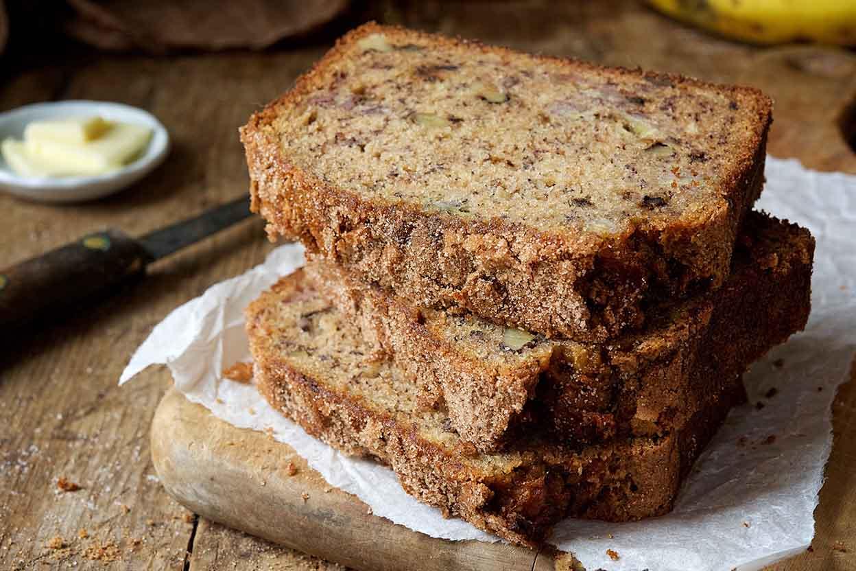 Whole grain banana bread recipe king arthur flour forumfinder Image collections