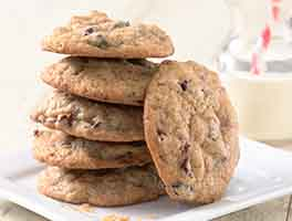 Cranberry-Chocolate Cookies