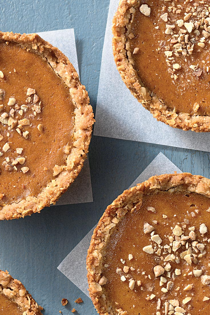 Pumpkin Praline Mini Pies Recipe