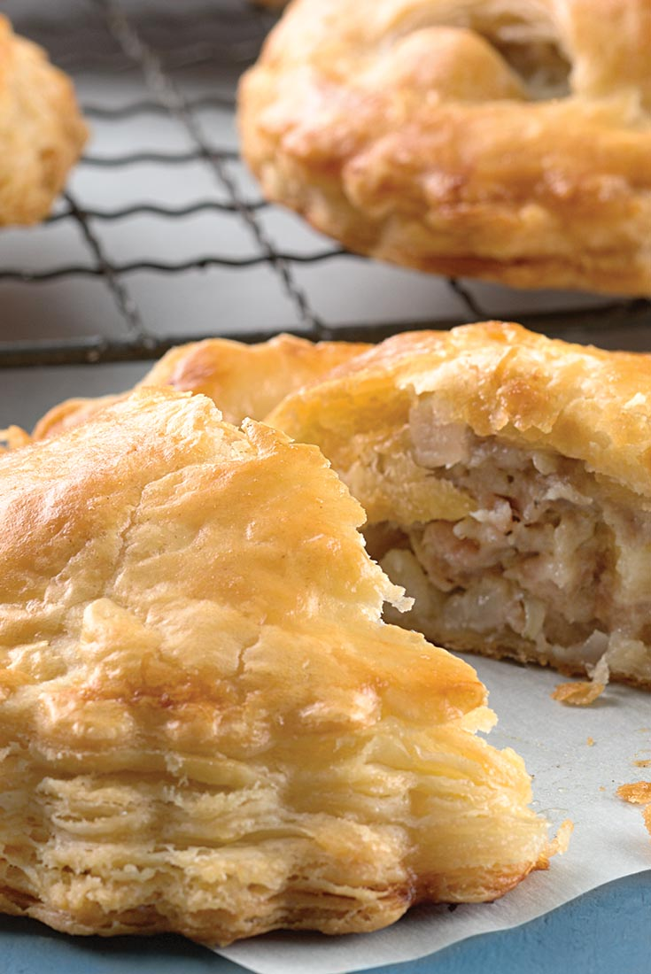 pies are a hearty meal for those on the go. The sweet and tart apple ...