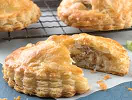 Sausage, Apple, and Cheddar Pocket Pies