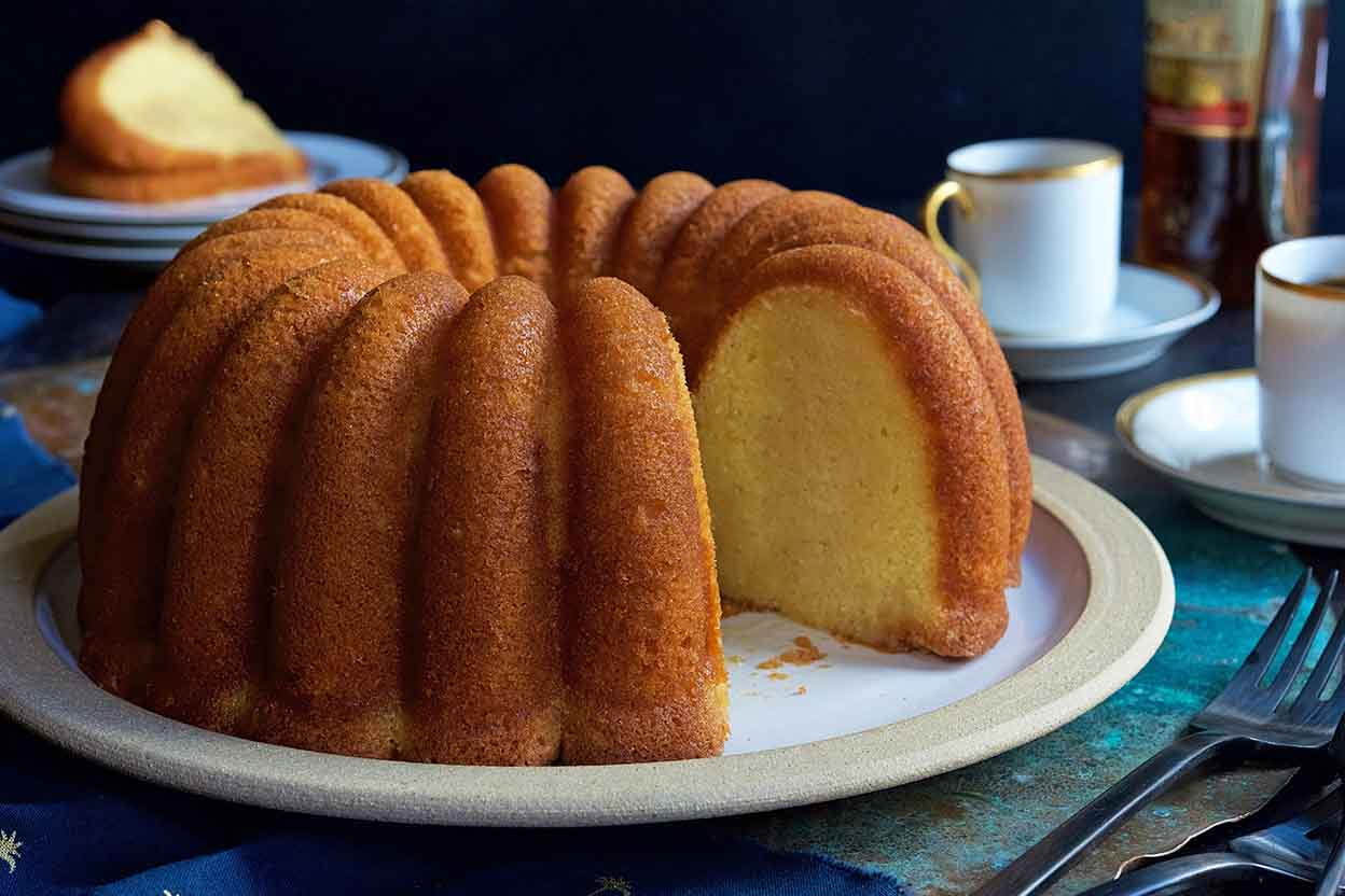 Vanilla Butter And Nut Pound Cake