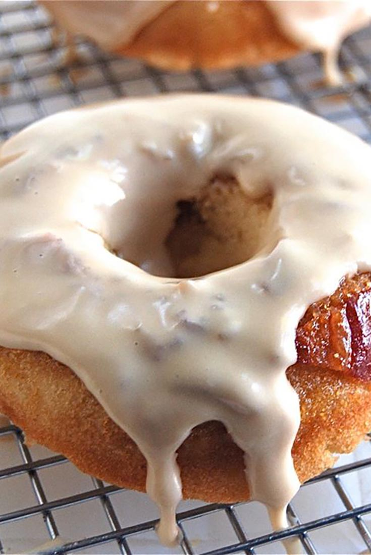 Maple-Glazed Bacon Doughnuts Recipe