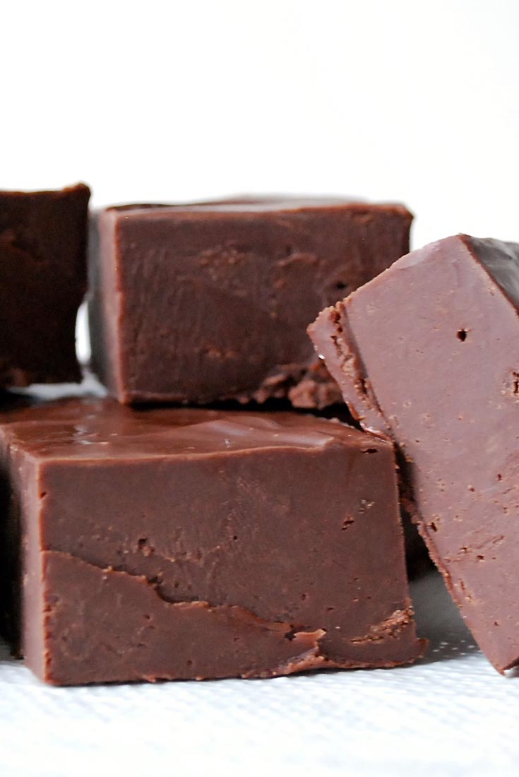 Easy Microwave Fudge Recipe King Arthur Flour