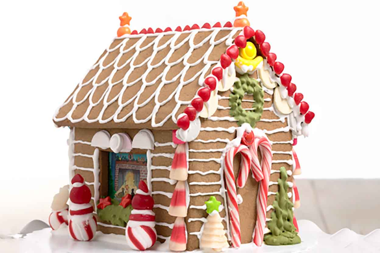 Image result for basic gingerbread house recipe