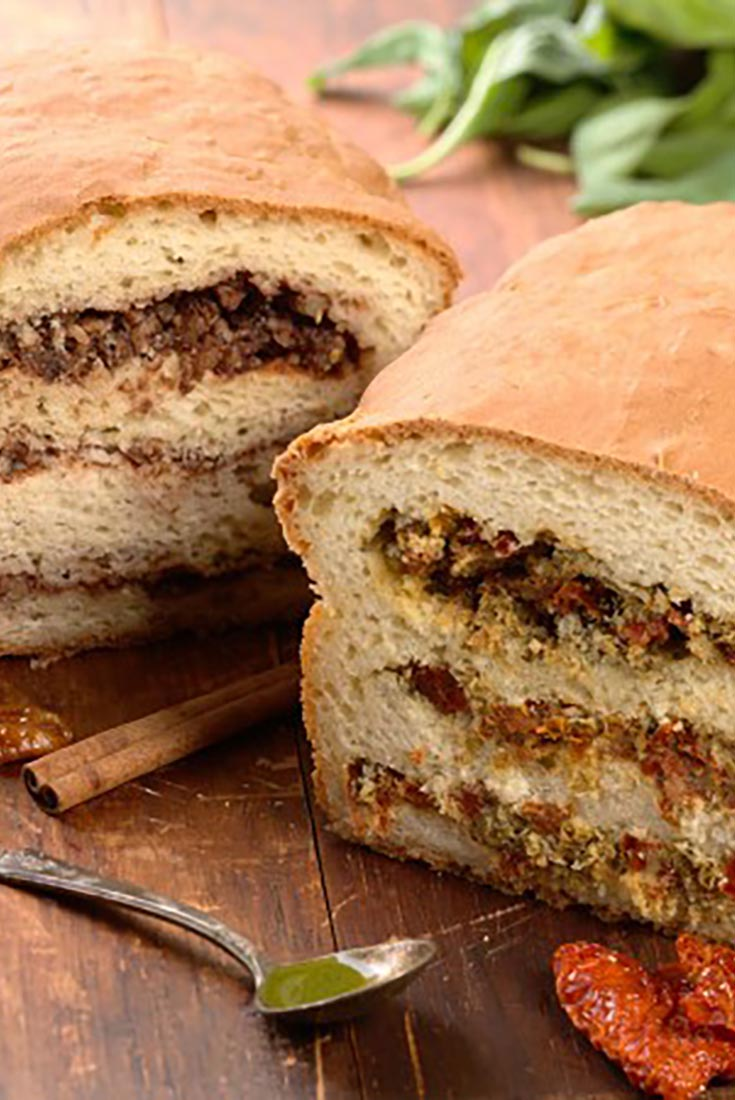 Gluten-Free Filled Breads Sweet and Savory Recipe
