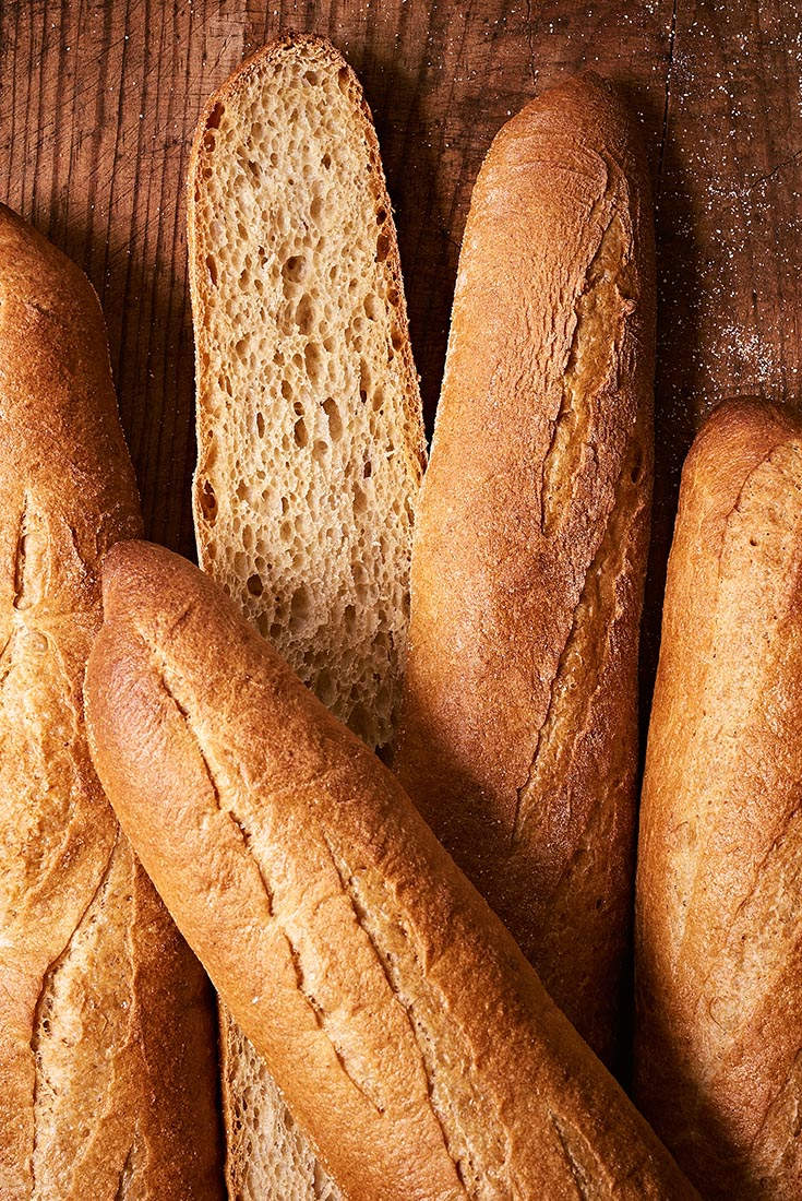 Whole Wheat Baguettes Recipe