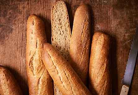 Whole Wheat Baguettes