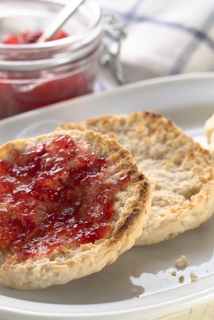 Gluten-Free Sourdough English Muffins Recipe