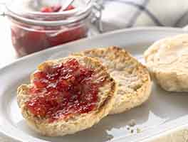Gluten-Free Sourdough English Muffins