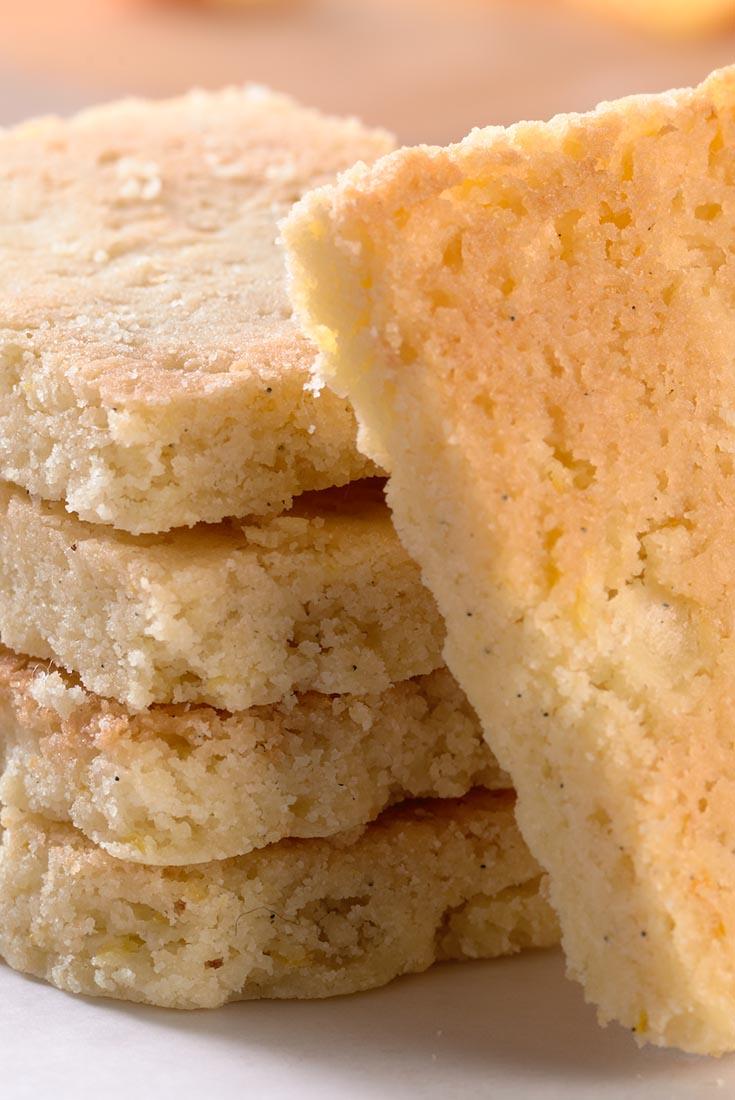 Gluten-Free Orange-Vanilla Shortbread Recipe