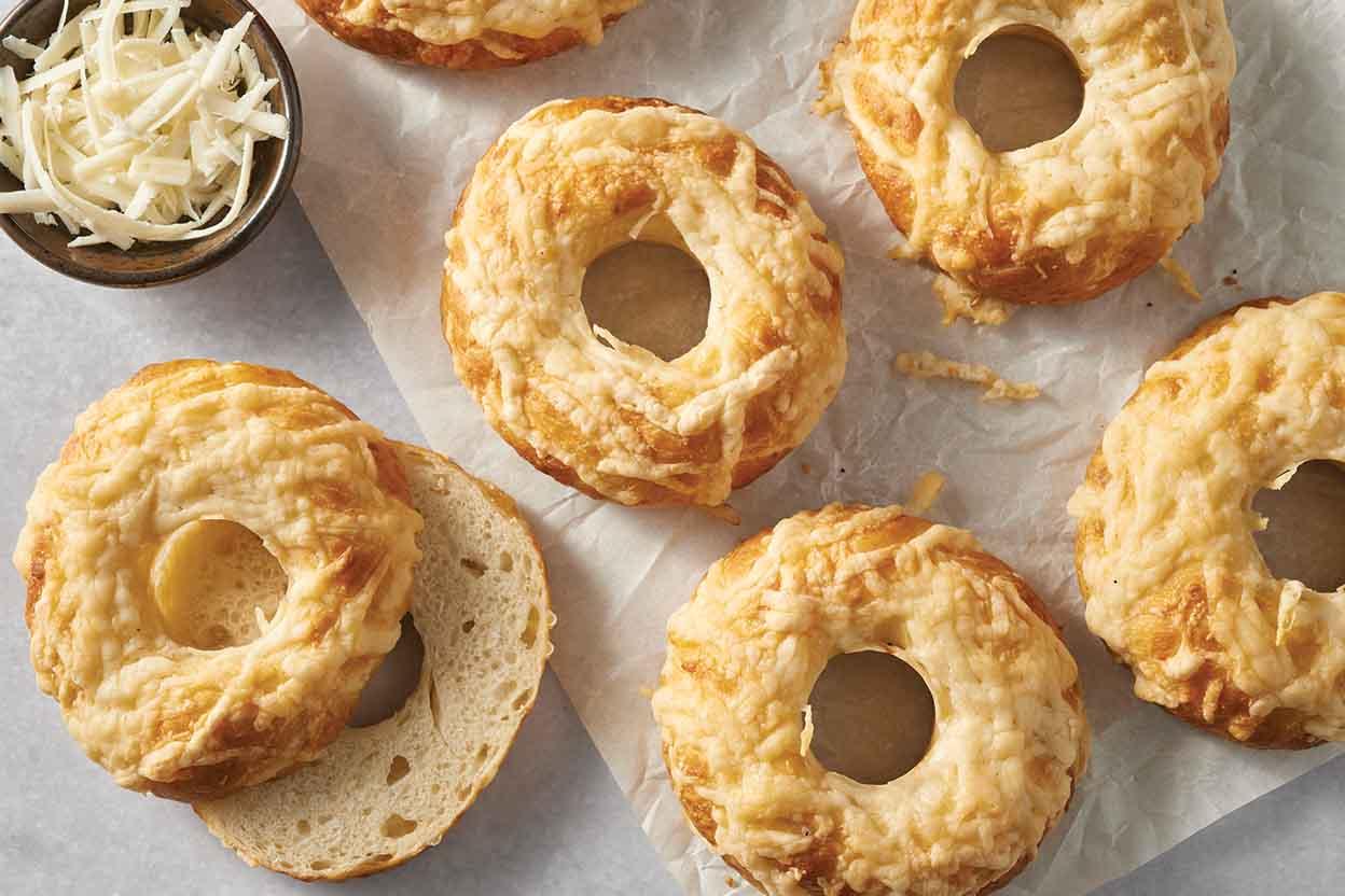 Asiago Bagels Recipe King Arthur Flour