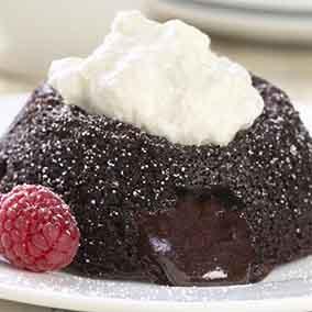 Gluten-Free Lava Cakes