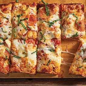 No-Knead Deep-Dish Pizza