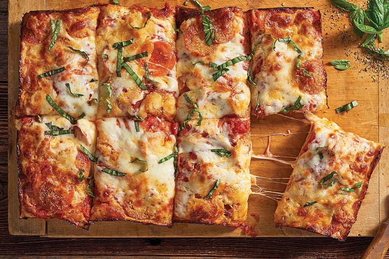No Knead Pizza Crust