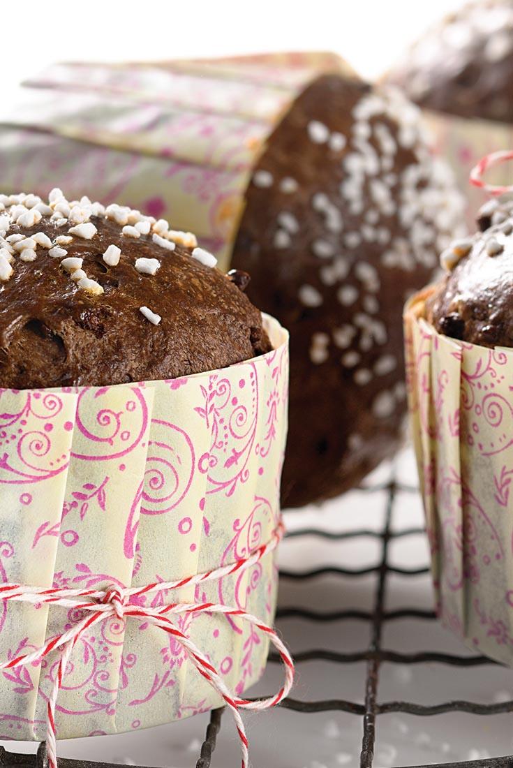 Chocolate-Chocolate Chip Brioches Recipe