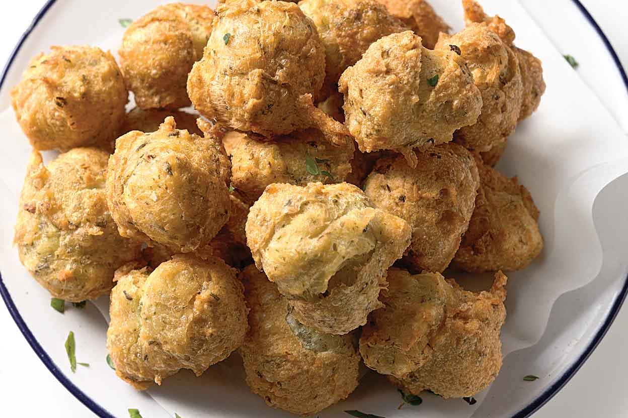 Herb And Garlic Puffs Recipe King Arthur Flour