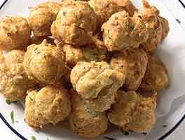 Herb and Garlic Puffs