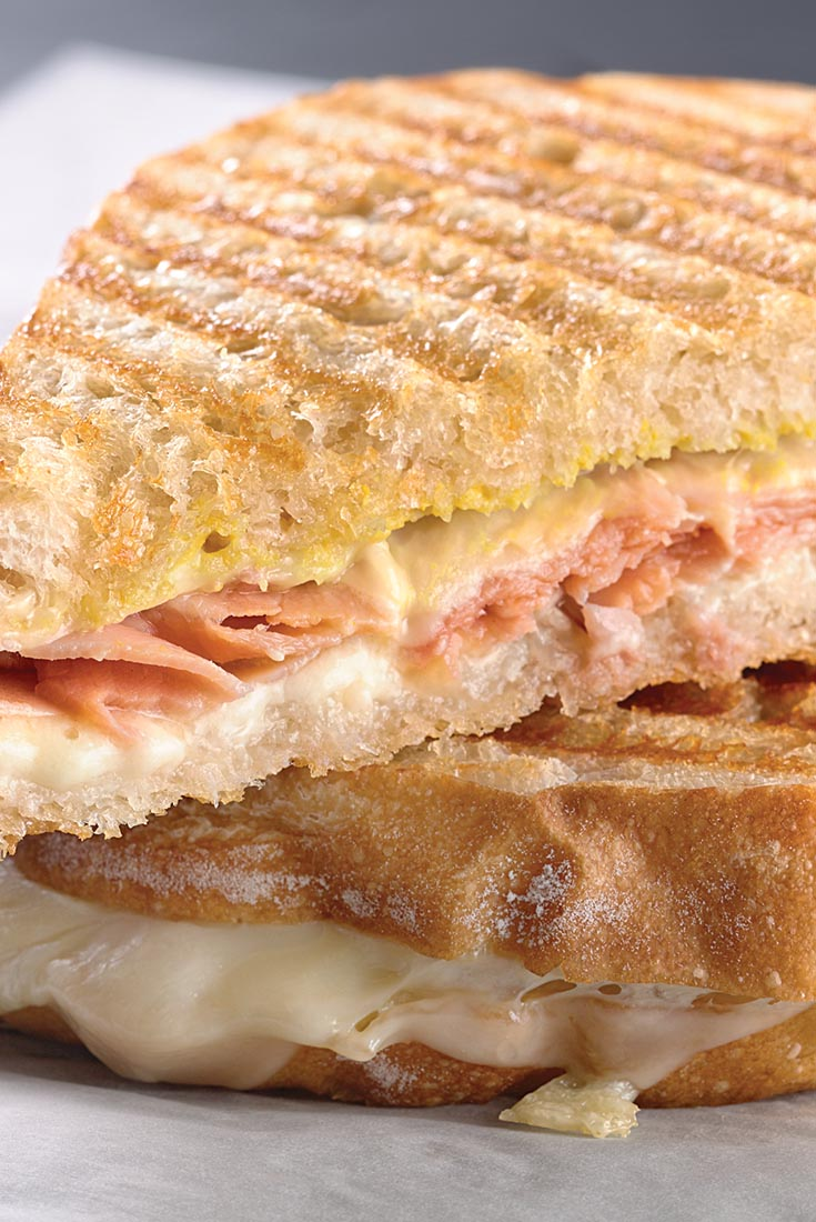 Ham and cheese is a classic sandwich combination. We give this panini ...