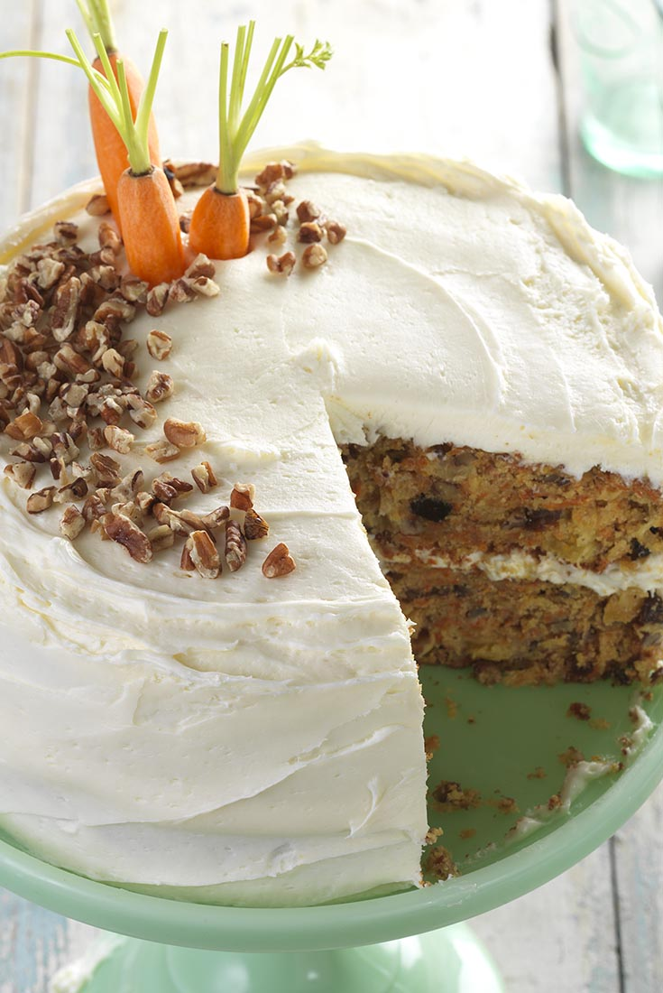 Gluten-Free Carrot Cake with Cream Cheese Frosting Recipe